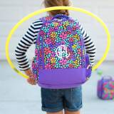 Personalized Petal Punch Backpack