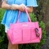 Personalized Hot Pink Carry All Tote