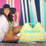 Personalized Main Squeeze Beach Bag
