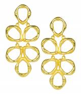 Lisi Lerch Gold Bamboo Ginger Earrings