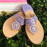 Palm Beach Sandals Classic Violet And Rose  . . .
