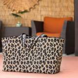 Monogrammed Leopard Wild Side Ultimate Tote