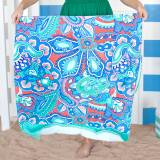 Personalized Island Bliss Beach Towel