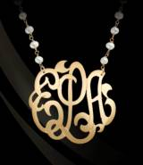 Monograms And Pearls!! My New Favorite!!