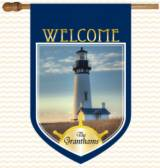 Monogrammed Lighthouse Flag