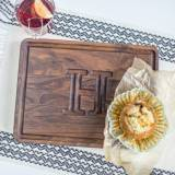 The Muffin Man Personalized Cutting Board  . . .