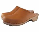 Ladies Plain Clogs Wooden Or Flex Heels