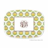 Personalized Pineapple Repeat Melamine  . . .