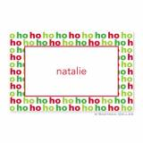 Boatman Geller Personalized Ho Ho Ho Placemat