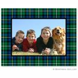 Black Watch Plaid Folded Photocard