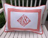 Monogrammed Boudoir Pillow From Jane  . . .