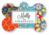 Personalized Bone Pet Tag For Dogs