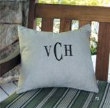 Monogrammed Pillow Or Cover Available In  . . .