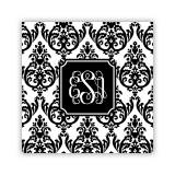 Personalized Coasters Madison Damask