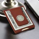 Personalized Money Clip With Card Holder  . . .