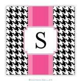 Personalized Coasters Alex Houndstooth Black