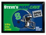 Personalized Pub Sign Open 24-7 Man Cave