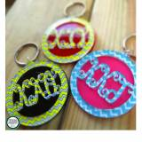 Sorority Keychain Script Letters And  . . .