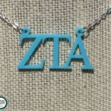 Greek Floating Letters Zeta Tau Alpha  . . .