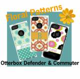 Custom Floral OtterBox Commuter And  . . .