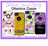 Custom Glitter And Girly OtterBox Commuter  . . .