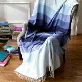 Matouk Salinas Striped Alpaca Lap Throw