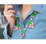 Madison Colorful Statement Necklace