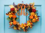 Vine Initial Wood Monogram Personalize To  . . .