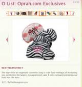 "The Pink Monogram Makes Oprah s ""O List""  . . ."