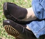 Brown Leather Driving Moccasins For Men -  . . .