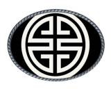 Loopty Loo Athena Black And White Belt Buckle