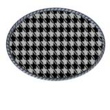 Loopty Loo Black And White Houndstooth  . . .