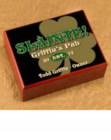 Personalized Clover Cigar Humidor