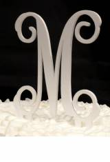 Monogrammed Acrylic Single Solid Letter  . . .