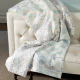 Matouk Evora Modal And Cotton Lap Throw