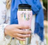 Monogrammed Stainless Steel Thermos