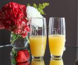 Champagne Flutes Stemless Set Of Four
