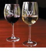 Personalized Set Of 4 Stemmed Red Wine  . . .