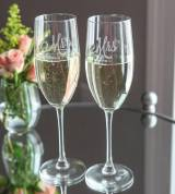 Champagne Flutes Personalized Set Of Two
