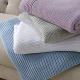 Matouk Esme Cotton Throw Soft And Cuddly
