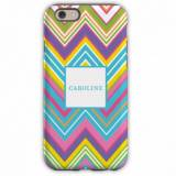 Personalized IPhone Case Zig Zag Pattern