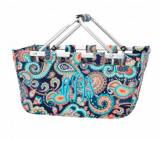 Monogrammed Emerson Paisley Market Tote