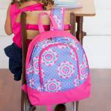 Personalized Zoey Girly Preschool Backpack