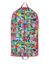 Monogrammed Garment Bag With Whimsy Colors