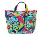 Monogrammed Lunch Tote With Whimsy Fun