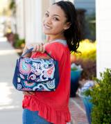 Monogrammed Emerson Paisley Lunch Bag