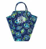 Monogrammed EVA Tote Laundry In Peacock  . . .