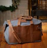 Jon Hart Personalized Olive Canvas Duffle  . . .