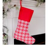 Monogrammed Red Kris Kringle Stocking