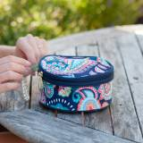 Monogrammed Emerson Paisley Jewelry Case
